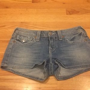 "Like new Women's true religion shorts 29"" waist"